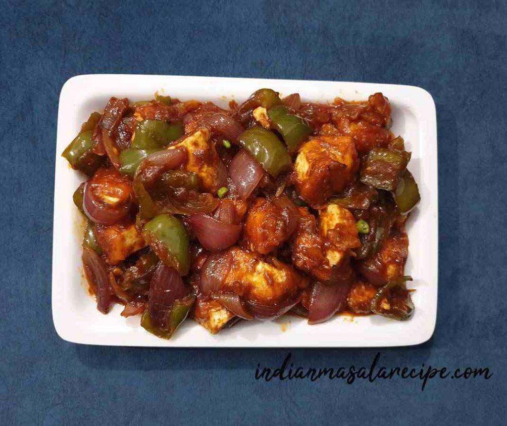 Simple-chilli-paneer-recipe